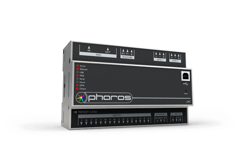 LPC | Pharos View Screen Crestron Wiring Diagram on