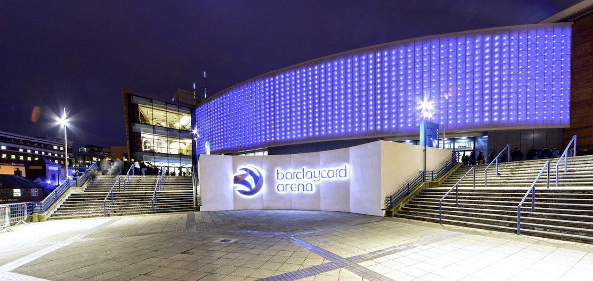 Barclaycard Arena Wonderwall