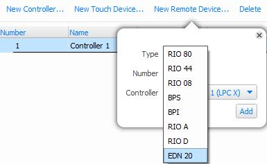 New Remote Device