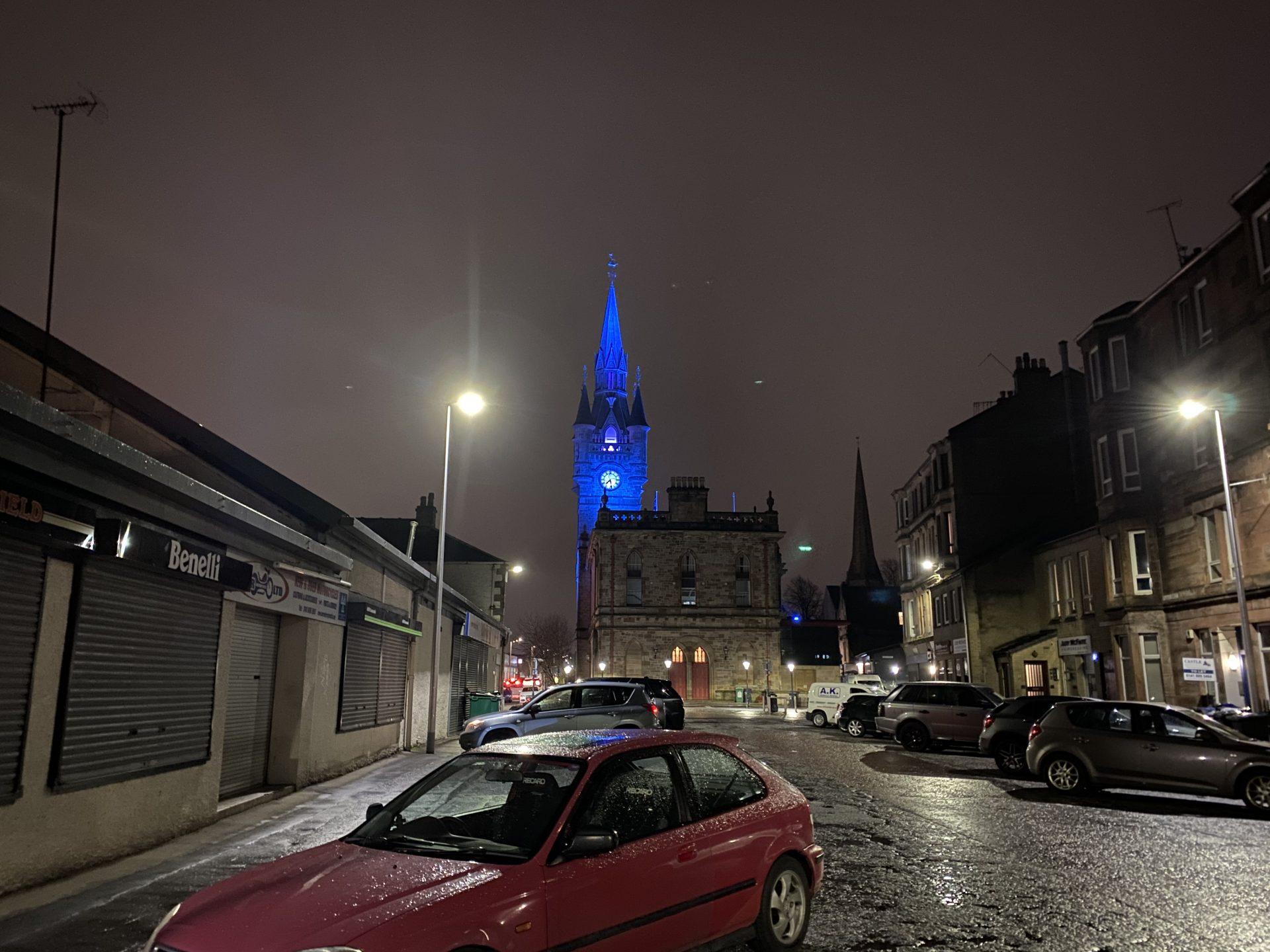 Renfrew Town Hall - Photo by LITE